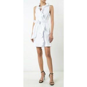 NWOT Milly Sleeveless Truffle Wrap Dress